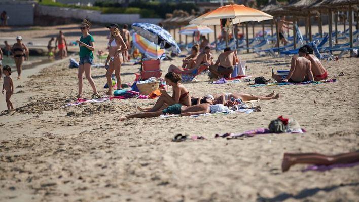 Martes con nubes y temperaturas máximas de 34 grados en Baleares