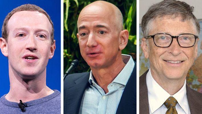 ¿Quiénes son las 50 personas más ricas del mundo?