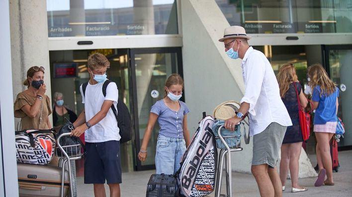 Caen un 15 por ciento las reservas de viajes en Baleares en una semana