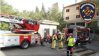 Realojados los afectados por el incendio en el Llar de Calvià