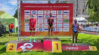 Xisca Tous, subcampeona de España de Triatlón Sprint