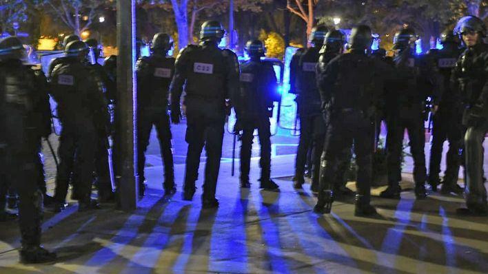148 detenidos en París por disturbios tras la final de la Liga de Campeones