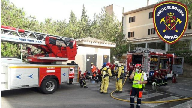 El incendio de la residencia obliga a trasladar a Santa Ponça la Unidad Básica de Salud de Calvià