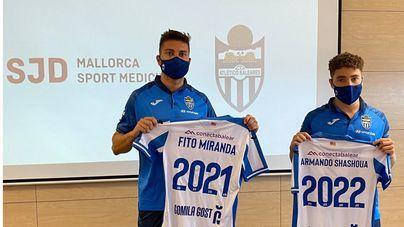 Fito Miranda y Armando Shashoua se embarcan en el nuevo proyecto del Atlético Baleares