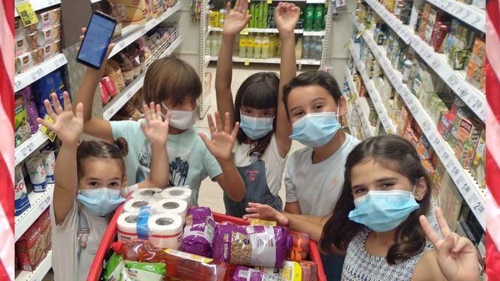 Creativa iniciativa de un grupo de niños de Consell para colaborar con los más necesitados