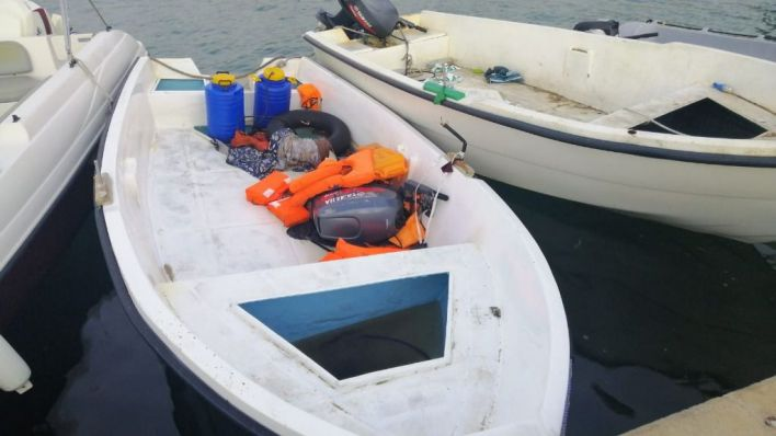 Llega una patera con 12 migrantes a Formentera