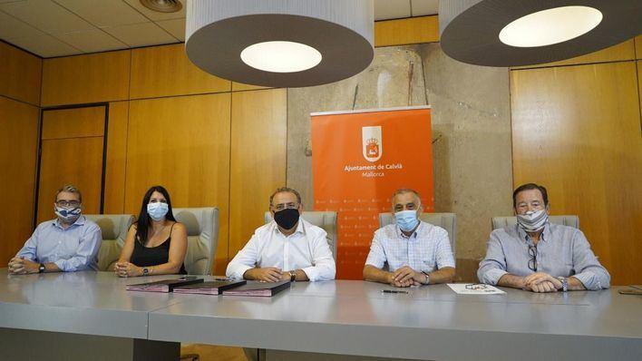 Calvià impulsa la ayuda a los emprendedores mediante un convenio con la asociación Seniors