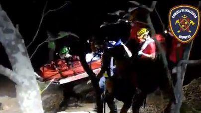 Un joven sufre heridas graves tras precipitarse desde 7 metros en Valldemossa
