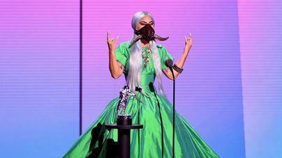 Los MTV Video Music Awards de la mascarilla coronan a Lady Gaga y Ariana Grande
