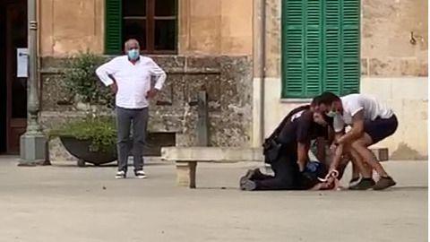 Detenida en Llucmajor tras agredir a un agente de la Policía Local