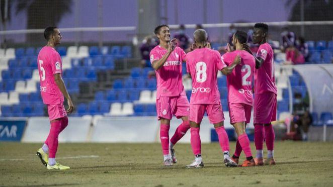 El Mallorca finaliza su pretemporada en Murcia con una cómoda victoria ante el Castellón