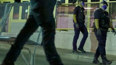 Operación contra el tráfico de drogas en Ciutadella