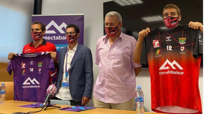 El Club Volei Manacor vuelve a contar con el patrocinio de Conecta Balear