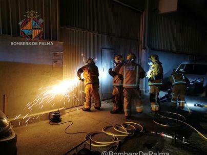 Detienen a un trabajador por robar y provocar un incendio en Can Valero