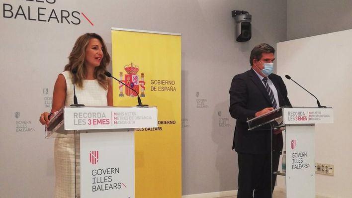 """El Gobierno expresa su """"absoluta sensibilidad"""" con los fijos discontinuos, que califica de """"marca Baleares"""""""