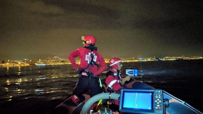 Salvamento Marítimo rescata a un velero que se encontraba a la deriva en Cala Figuera