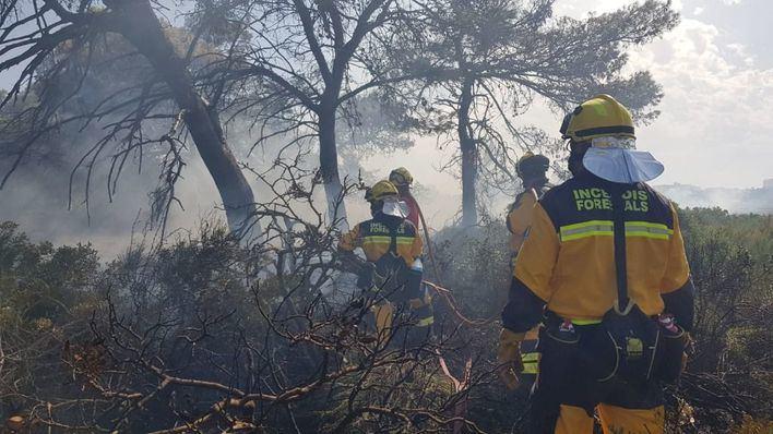 Alerta por 'riesgo muy alto 'de incendios forestales en Baleares