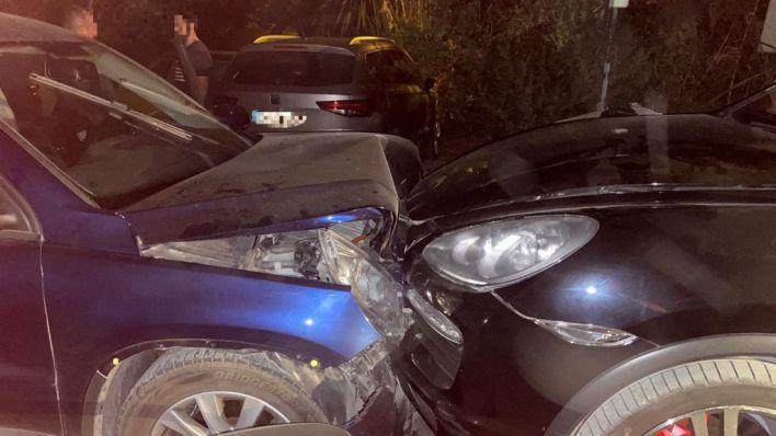 Dos Guardias Civiles heridos tras ser embestidos por el coche de unos narcos