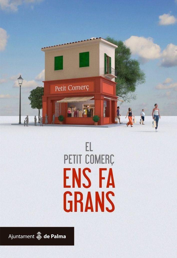 Palma inicia la campaña 'El petit comerç ens fa grans' para fomentar la compra en los comercios