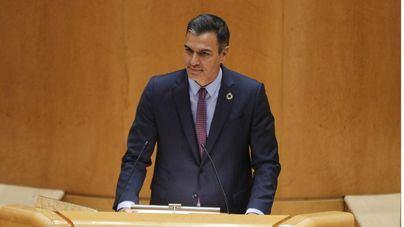 Sánchez, en el Senado, sobre la Covid:
