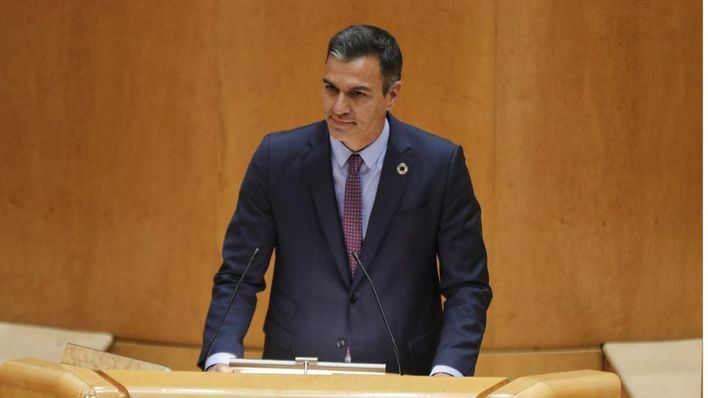 Sánchez, en el Senado, sobre la Covid: 'Mantenemos una actitud de vigilancia absoluta'