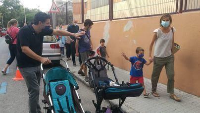 El curso arranca en Baleares con 'tranquilidad' y 'cuatro o cinco' profesores contagiados