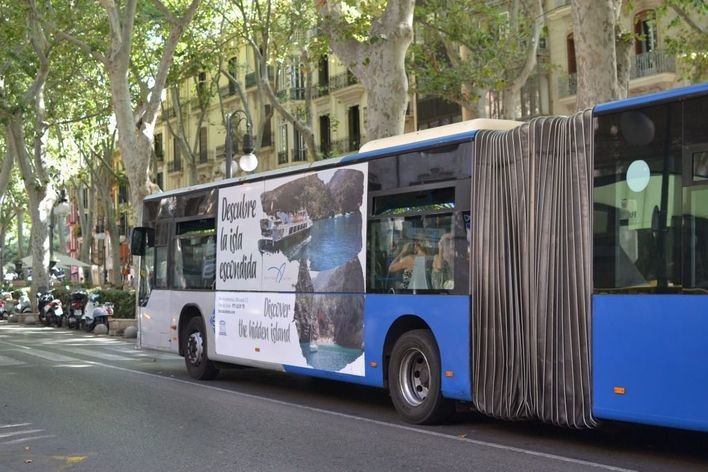 La EMT recupera la línea 2 que facilita la conexión del Centro con los barrios de Bons Aires y Es Fortí