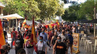 Unas 500 personas protestan en Palma contra