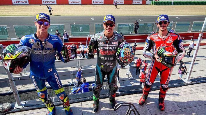 Joan Mir saca del podio a Rossi en San Marino