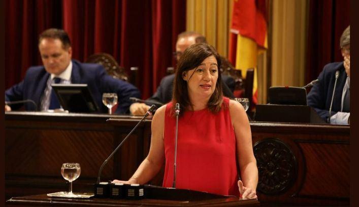 Armengol: 'No es momento de políticas de partidos, sino de políticas de Estado'