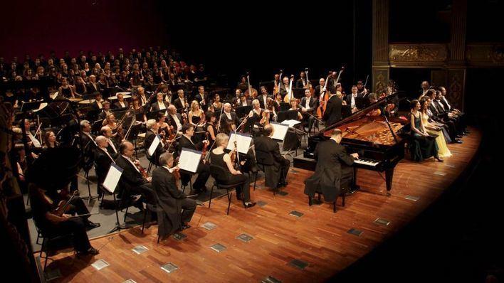 La Orquesta Sinfónica actúa esta semana en el Arxiu del Regne y en el Castell de Bellver