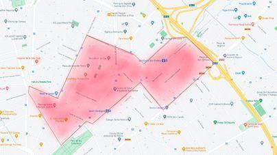 Restricciones para 20.000 vecinos de Son Fortesa Sur, Arxiduc, Plaza de Toros y Son Oliva