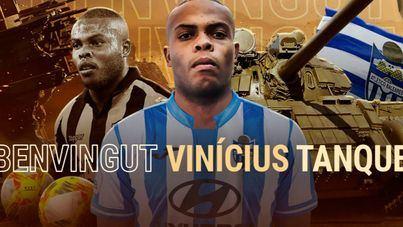 El Atlético Baleares ficha a un 'tanque' para la delantera: Vinicius ya es blanquiazul