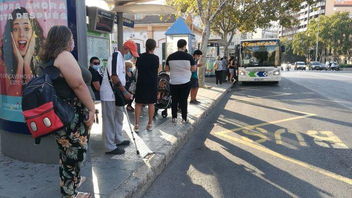 Cuarta jornada de huelga de autobuses en Palma