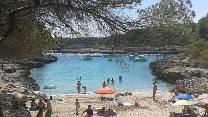 Mallorca se salva del cambio de tiempo brusco que asolará la Península desde hoy