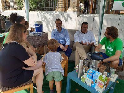 Cinco entidades participan en el Park(ing)Day de Palma