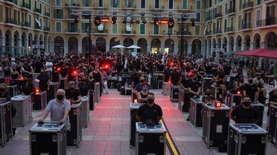 El sector del espectáculo se moviliza en Palma para reclamar su supervivencia