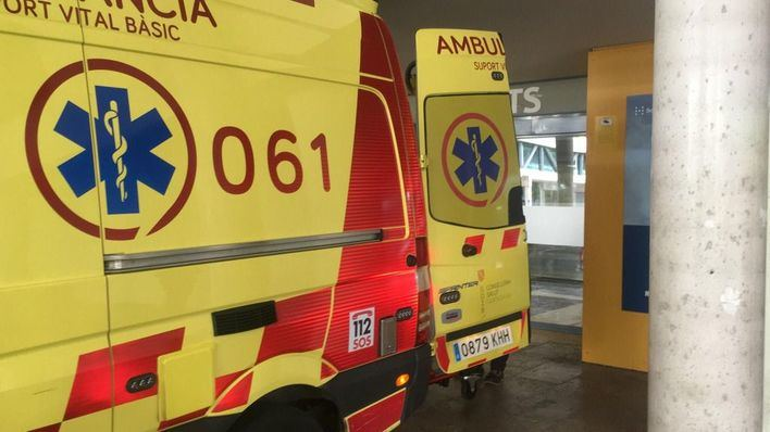 Herido un hombre en s'Arenal al quedar atrapado tras derrumbarse el techo de una vivienda