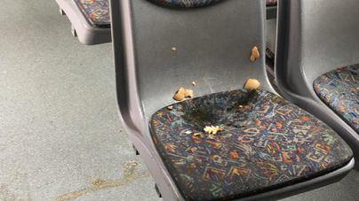 26 autobuses de la EMT retirados por impacto de huevos en la quinta jornada de huelga