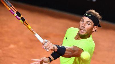 Nadal derrota sin paliativos a Lajovic y ya está en cuartos de final del Masters de Roma