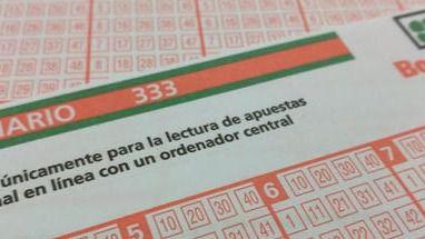 Validado en Baleares uno de los dos boletos acertantes de la Bonoloto del viernes