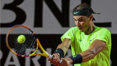 Nadal imparable, Djokovic sufre