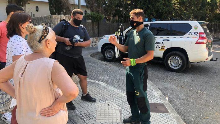 Localizado un excursionista desaparecido desde el sábado en la zona de Pollença