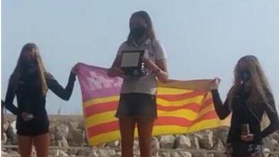 Bernat Tomás y Andrea Torres, del Club Nàutic s'Arenal, campeones de España juveniles del Open Foil