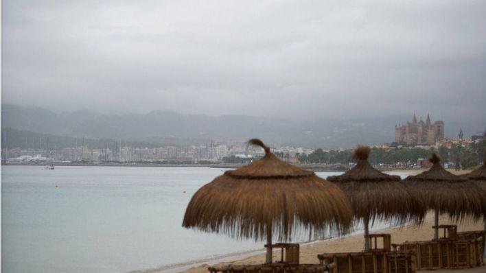 Lluvia y tormentas hoy en Mallorca
