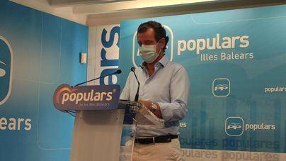El PP pide a Sánchez que trate a Armengol como a Ayuso para ayudar a Baleares