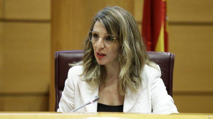 La ministra Díaz sobre los ERTEs: 'Nunca se ha puesto sobre la mesa proteger sólo a determinados sectores'