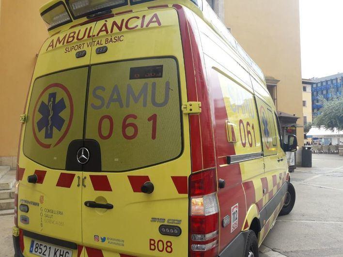 Fallece un motorista cerca del embalse de Cúber al estrellarse contra un muro