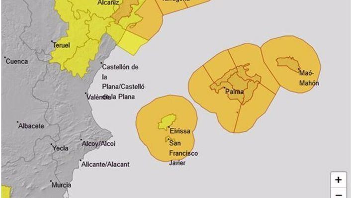 Alerta en Mallorca ante la previsión de vientos de más de 100 kilómetros por hora