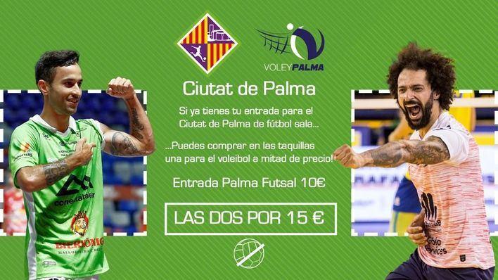 Entradas a mitad de precio para el VIII Trofeo Urbia Services THB Hotels Ciutat de Palma de voleibol